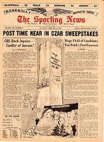 Sporting News magazine 2/6/1965 Baseball's New Commissioner Candidates Near