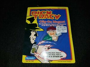 Playmates Dick Tracy Clip-On Magnet Steve The Tramp New on Card Free Shipping!