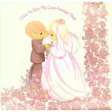 PRECIOUS MOMENTS Love Forever True EXTRA LARGE NAPKINS (16) ~ Wedding Supplies