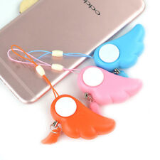 Personal Alarm Emergency Safety Wing Shape Self Defense Anti-Attack Keychain Hot