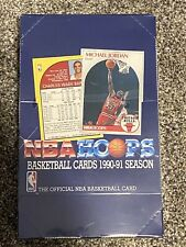 NBA Hoops Basketball 1990-1991 Series 1 Box Factory Sealed with 36 packs *NEW*