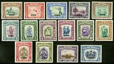 North Borneo  1945   Scott # 208-222   Mint Never Hinged Set