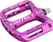Chromag Contact Pedals - Platform Aluminum 9/16 Purple