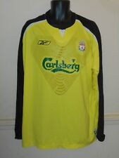 Liverpool Goal Keepers Shirt 2005-2006 PEPE REINA 25 2xl men's #1036