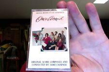 Once Around- film soundtrack- James Horner- new/sealed cassette tape