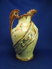 Vintage Small Empire #708 Porcelain Pitcher With Ribbon - Made in England