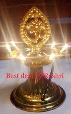 1 Layer Electric Gold Diya   Rice Light Lamp - Diwali   Navratra Home Decoration
