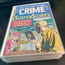 Wow! CRIME SUSPENSTORIES #1-27 **Complete EC Reprint Set!** Gemstone (VF/NM)