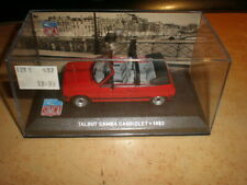 IXO  1/43  Talbot Samba cabriolet 1983          MIB (18/014)