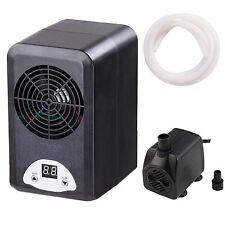 Aquarium Thermostat Chiller Heater Adjustable 72W Fish Tank +160GPH Water Pump