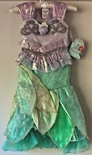 NWT Disney Store Little Mermaid Ariel Size 4 LIMITED EDITION Deluxe Costume NEW