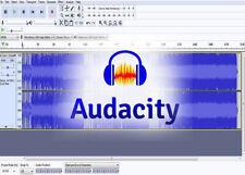 Audacity 2019 Audio Editing Studio Music Sound Record Software DOWNLOAD Windows