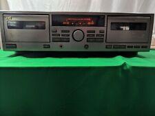 JVC TD-W315 Double Cassette Tape Deck Player Recorder HX PRO Auto Reverse Tested