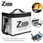 Zeee Lipo Battery Safe Bag Fireproof Explosionproof Guard Bag For Charge Storage