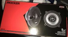 "Kicker KSC50 5 1/4"" Coax 13cm Car Coaxial Speakers Pair With Grill 150W Watt NEW"