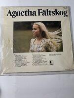 RARE USED LP VINYL RECORD: Agnetha Faltskog Self-titled Vinyl Record in Swedish