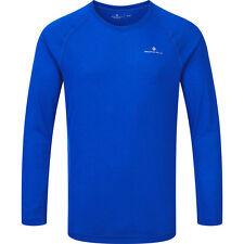 Ronhill advance Motion Long Sleeve Tee Top Running Jogging Gym Cobalt