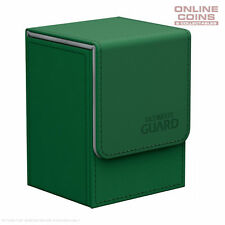 Ultimate Guard FLIP DECK CASE 80+ STANDARD SIZE XENOSKIN - GREEN