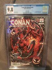 CONAN THE BARBARIAN #4 MARK BROOKS SPIDER-MAN VILLAINS VARIANT CGC 9.8
