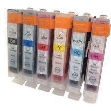 6 NON-OEM INK CARTRIDGE CANON CLI-8 PIXMA MP950 MP960 MP970 IP6700D Pro 9000