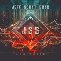 JEFF SCOTT SOTO - RETRIBUTION   CD NEW+