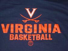 UVA University  VIRGINIA CAVALIERS  BASKETBALL  T-Shirt NEW TAG  sz......  LARGE