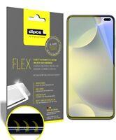 3x Poco F2 Pro Schutzfolie Folie, 100% Displayabdeckung, dipos Flex