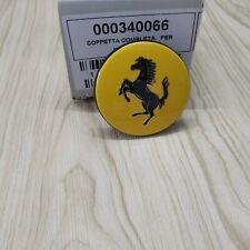 Genuine Ferrari Yellow Wheel Center Cap #340066 Brand New (For 1 Pc)
