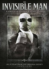 The Invisible Man: Complete Legacy Collection, Excellent DVD, Bud Abbott,John Ba