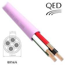 300m Drum QED Professional QX 16/4 LSZH 4 Core Custom Installation Speaker Cable