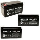 3x 12V 1.3Ah Sealed Lead Acid Battery For CSB/Prism GH1213 UB1213