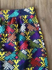 Anthropologie TIBI Tribal Ethnic Folk Art Bird Skirt NWOT 8