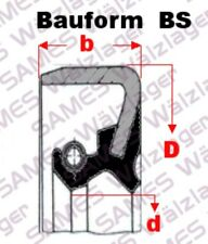 1 Stück 25x47x7 BS  =(B1SL,D1SL,TB,WBS,) Wellendichtring (Simmerring) Oil-Seal