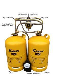 Gaslow Twin 11kg Refllable Cylinder Kit (Spring Promotion) Motorhome Caravan LPG