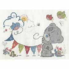 DMC TINY TATTY TEDDY ME TO YOU FUN IN THE SUN COUNTED CROSS STITCH KIT 2016