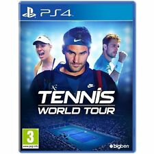 TENNIS WORLD TOUR VIDEOGIOCO PS4 GIOCO PLAYSTATION 4 2018 MULTILINGUE ITALIANO