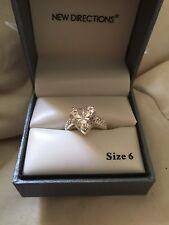 New Cubic Zirconium Heart $25 Belk New Directions Size 6