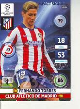 PANINI FOOT TRADING CARD CHAMPIONS LEAGUE FERNANDO TORRES ATLETICO MADRID