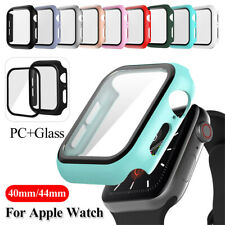 Screen Protector Shockproof PC Hard Cover Case for Apple Watch Series 5 4