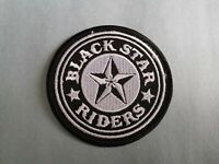 BLACK STAR RIDERS MUSIC PATCH: SEW or IRON ON: POP PUNK ROCK HEAVY METAL (b)