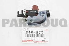 Genuine Toyota regulador de válvula de vacío se adapta Corolla Land Cruiser 120 25819-33010