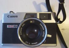 Canon Canonet GIII QL17 35mm Rangefinder Camera w/40mm F/1.7 Lens Exc Cond Rare
