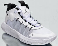 Jordan Jumpman 2020 Men's White Metallic Silver Black Basketball Sneakers Shoes