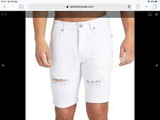 New Mens Kings Will Dream Lumor White Shorts W28 £19.99 Or Best offer RRP £39.99