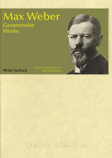 Max Weber - Collected Werke CD Digital Library no. 58