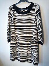 J Crew Sz 12 NWT Jules Dress in Silk Stripe  $188