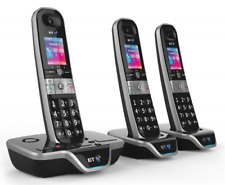 BT 8600 TRIO TELEPHONE PACK WITH ANSWER MACHINE AND ADVANCED CALL BLOCKER