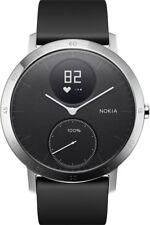 Nokia Activité STEEL HR 40mm black Smartwatch Fitness Tracker Herzfrequenz BT