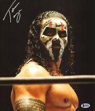 Tama Tonga Signed 11x14 Photo BAS COA New Japan Pro Wrestling Bullet Club NJPW 1