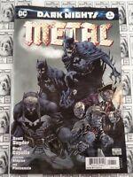 Dark Nights Metal (2017) DC - #6, Jim Lee Variant, Snyder/Capullo, NM